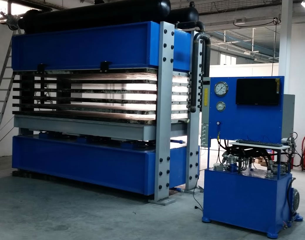 Aerospace Data Acquisition System : Hydraulic press control systems process data