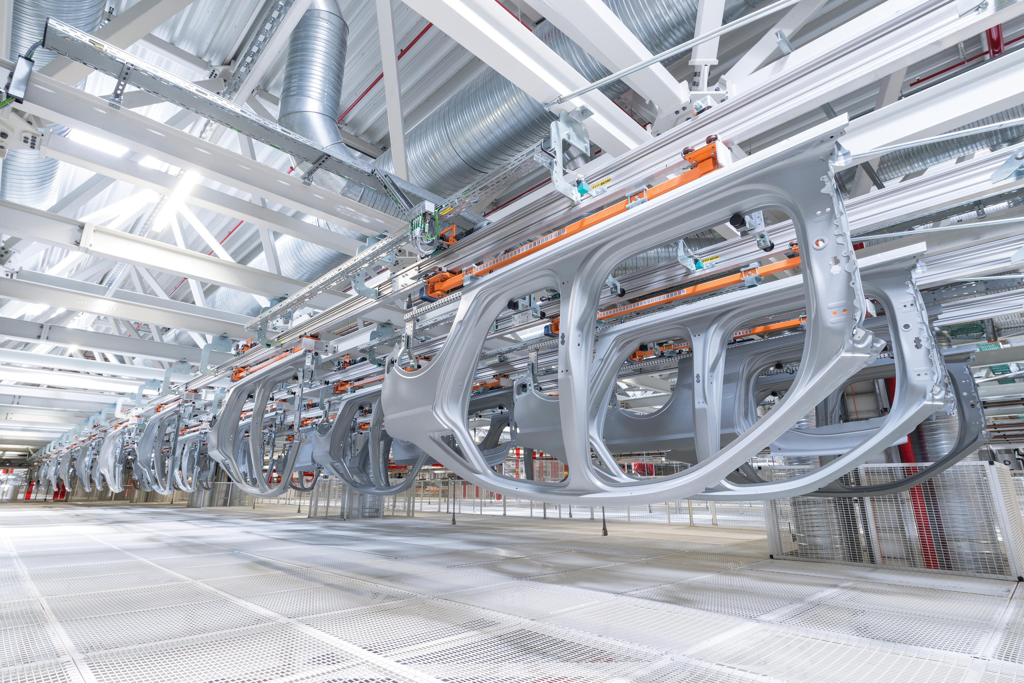 Automotive Data Acquisition : Automotive industry autoclave oven press control